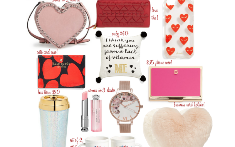 Valentine's Day Gift Guides & $500 Nordstrom Giveaway